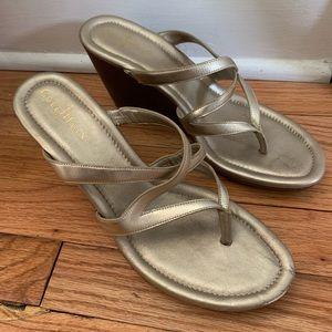 Cole Haan Wedge Sandals/Nike Air
